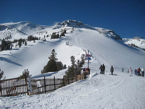 Mammoth Mountain Ski Resort.